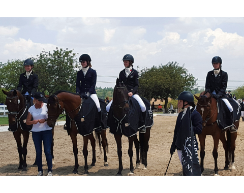 The Victorious KZN Junior Novice Dressage Team for 2015 – Ticket to Paradise, Sunny Dayz and Pohlands Whistle Down the Wind