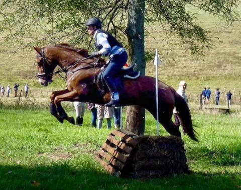Gill Spells and Far Away Moon showing great form at their Hunter Trials