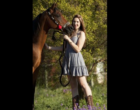 Natasha Reyneke with her beautiful horse Lio Rio Twilight