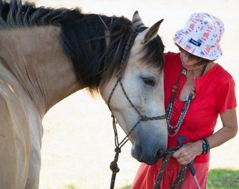 Nicole-Marie Iresch and her beautiful horse Ariel