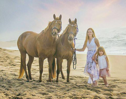 Julie Rossouw's beautiful mares Rossgate Christabella and Rossgate Wyvern Libelle