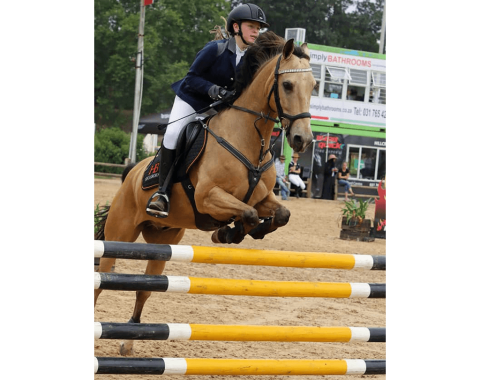 Heidi Quail's beautiful horse Burgertrots Saldanna