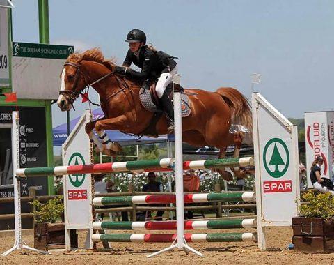 Heidi Quail's beautiful horse Eve De Vesey