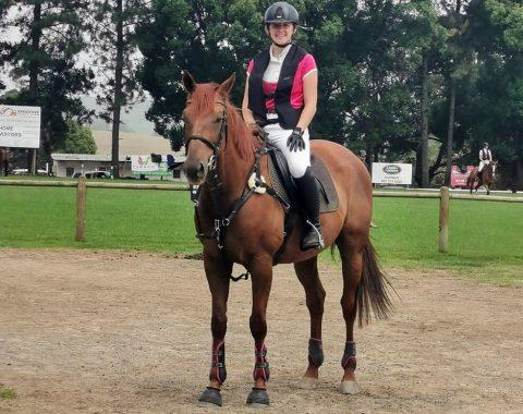 Jason Picken's horse Harayana
