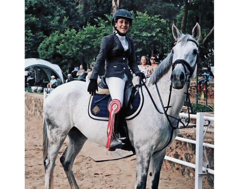 After a successful day – Shannay and Quickstep
