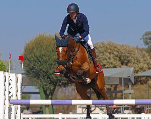 Shaun West's stunning horse, Ne'kaya